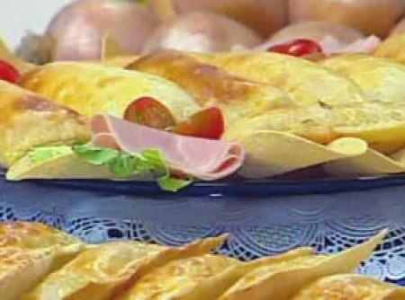 Pastel de Forno de Presunto e Queijo