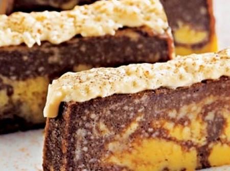 Pudim mesclado com creme de coco | KATIA GIANASI SANCHES