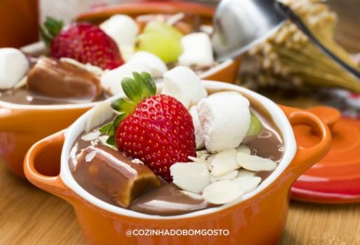 Strogonoff de Chocolate   Lívia