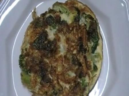 Omelete de Brócolis