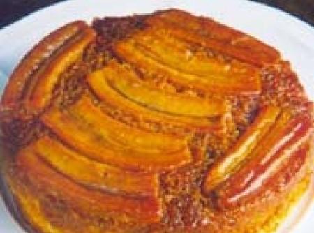 Banana caramelizada oriental