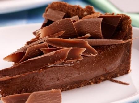 Torta-mousse de Chocolate