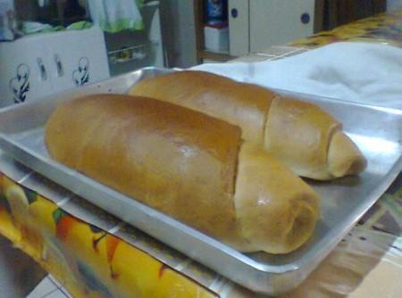 Pão Doce Caseiro na Máquina de Pão