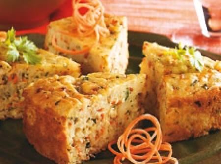 Torta de arroz com requeijão | CyberCook