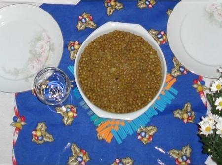 Lentilha à moda indiana