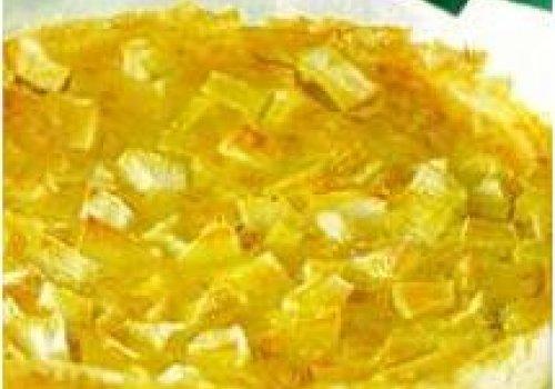 Torta de iogurte e maçã
