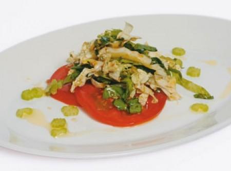 Salada com toque oriental | Humberto Teixeira de Oliveira