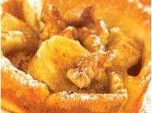 Torta crocante de banana com nozes | Luiz Lapetina