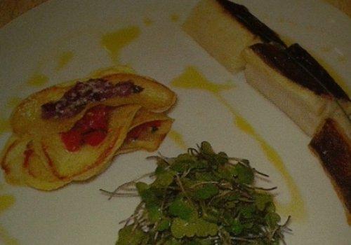 Bacalhau Confitado com Batatas Crocantes