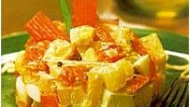 Salada de batatae kani kama