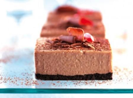 Torta Gelada de Mousse