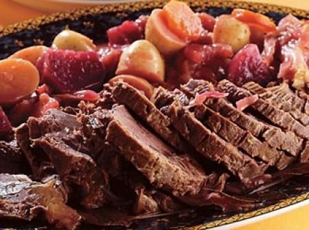 Carne Marinada de Panela