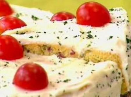 Torta salgada de milho verde