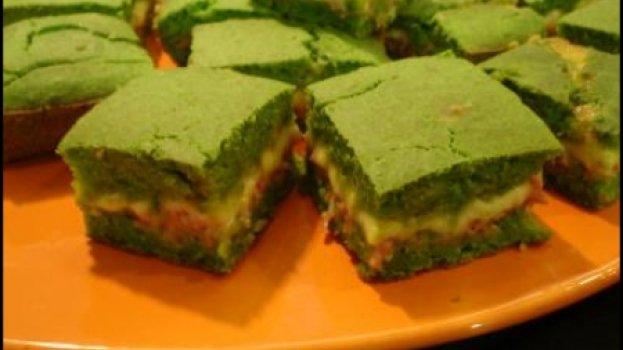 Torta de Espinafre com Presunto e Queijo