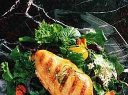 filé de frango recheiado com batata e espinafre
