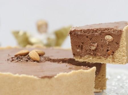 Torta de Amêndoas com Chocolate   Douglas Aby Saber