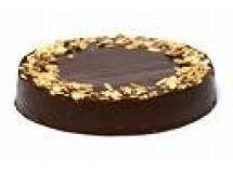 Torta sucesso de amêndoas com chocolate