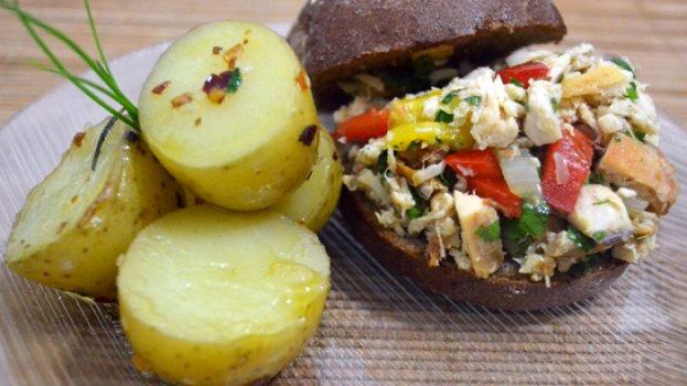 Sanduíche de Frango no Pão Australiano