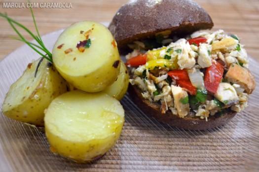 Sanduíche de Frango no Pão Australiano | Eloah Cristina