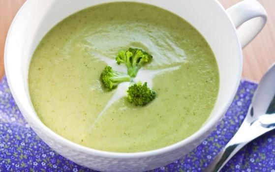 Sopa Cremosa de Brócolis | ILCELI LIMA