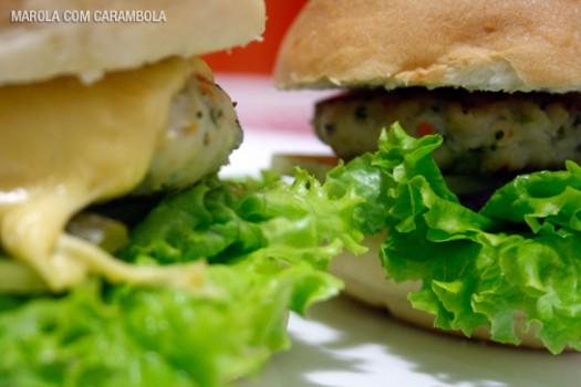 Hambúrguer de Frango