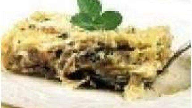 Lasanha de Gorgonzola e Presunto Parma