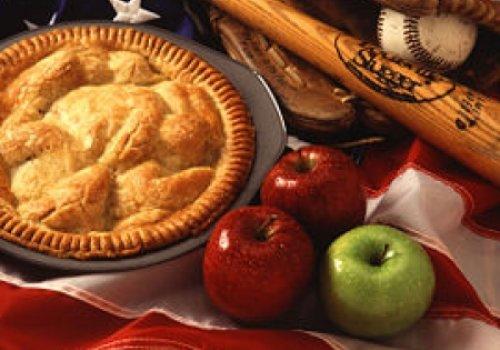 torta de maçâ americana