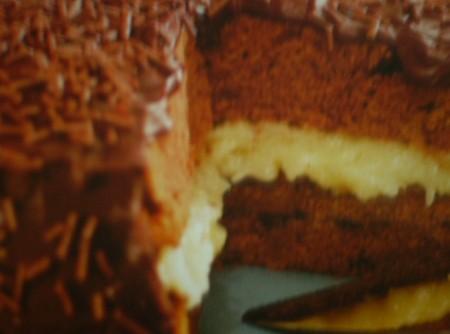 Bolo Tentação Chocolate com Coco | Laura Schwarz