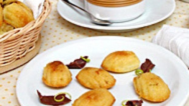 Madalenas de Chocolate e Laranja