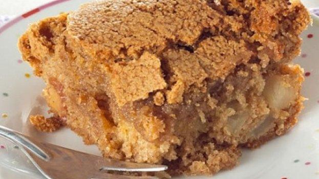 Torta de Maçã Crocante