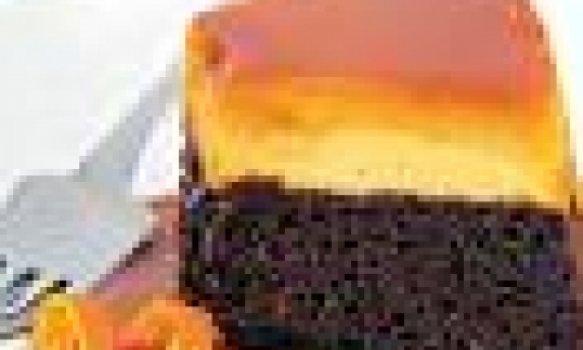 Bolo Pudim - Chocolate e Laranja