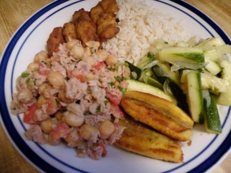Salada de Grão de Bico com Atum | Raquel Harris