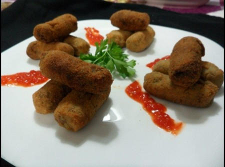 Croquete de Carne com Batata | Denise Brianza Silva