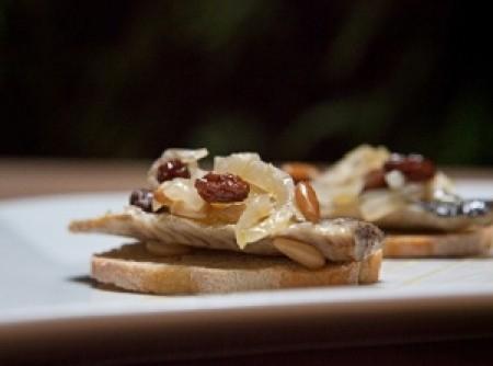 Crostini de Sardinha