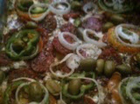 Macarrão de forno à calabresa | Sonia M. Oliveira