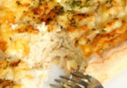 Torta de queijo branco diet
