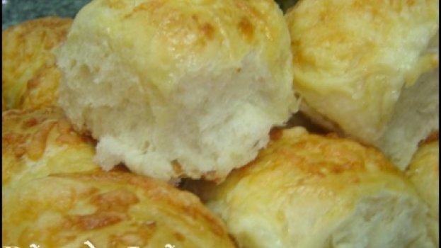 Pão de batata com mussarela