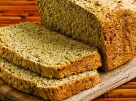 Pão de Linhaça Dourada sem Glúten | SAM