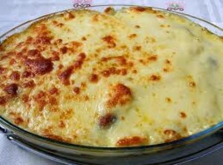 Torta de Bacalhau com Palmito e Azeitona