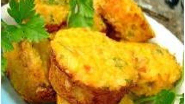 Bolinho de Bacalhau de Colher (Frito ou Assado)