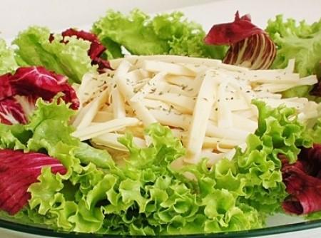 Salada de pupunha