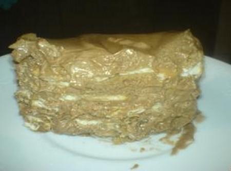 Torta de bolacha especial da Niele