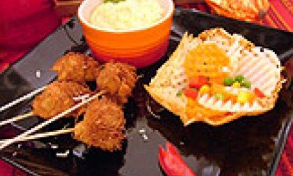 Palitos crocantes de frango