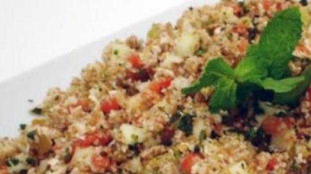 Salada de Trigo e Especiarias