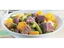 Carne Seca com legumes