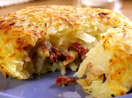 Batata com Carne Seca e Cream Cheese | ronaldo moreira