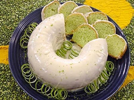 Bolo verde de limão