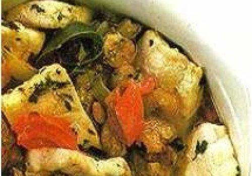 Calderada de peixe e camarão