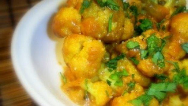 Tibet - curry de couve-flor