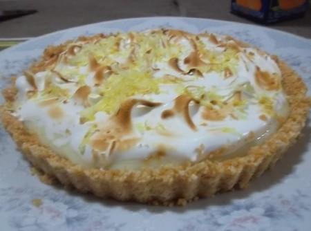 Torta Super Rápida de Limão   Marilda